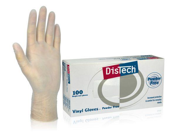 1129_DisTechΓäó Vinyl Gloves