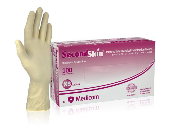 1204C_SecondSkinΓäó Latex Gloves
