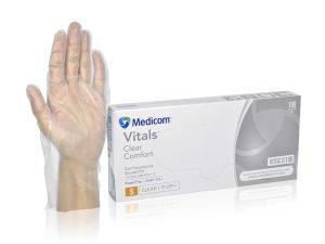 1210_VitalsΓäó Clear Comfort CPE Gloves
