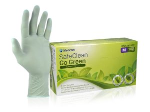 SafeClean Go Green Textured Nitrile Examination Gloves_138100