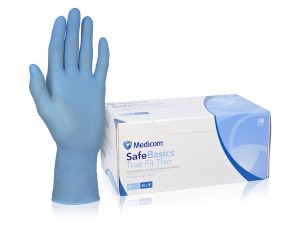 1185_SafeBasic True Fit Thin White Nitrile Glove