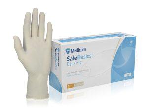 1188_SafeBasics Easy Fit Latex Glove
