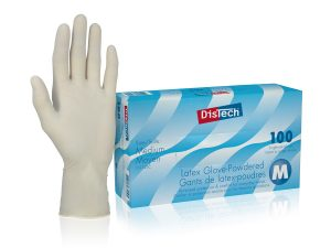 DT1125D_DisTechΓäó Latex Gloves