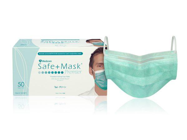 2018M_Safe+Mask® Premier Earloop Mask (Multicolor)